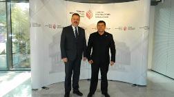Özbekistan İnşaat Bakan Yardımcısı, TMB'Yİ Ziyaret Etti