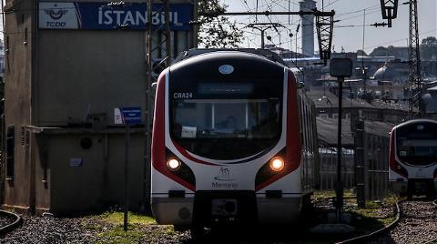 Gebze-Halkalı Marmaray Hattı'nın Sinyalizasyon Testleri Başladı