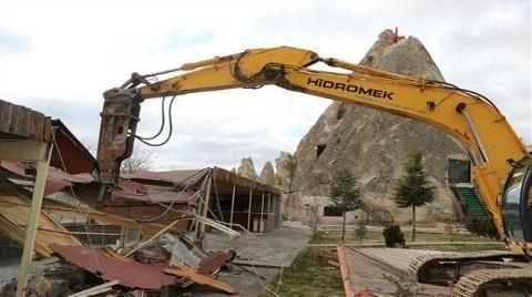 Kapadokya'daki Talan Tepki Topladı