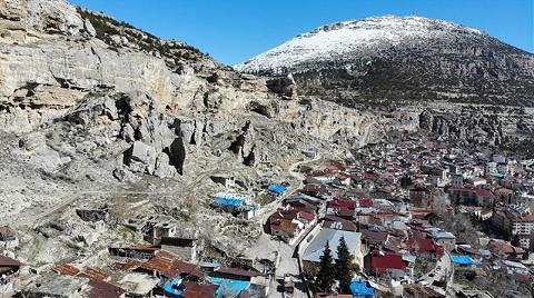 Ermenek'te 7 Mahallenin Sakini Kaya Düşme Korkusuyla Yaşıyor