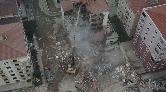 Kartal'da Bir Riskli Bina Daha Yıkılıyor