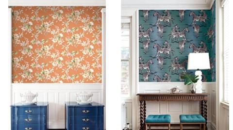 Ünlü Tasarımcıların Duvar Kağıtları SK Concept'de