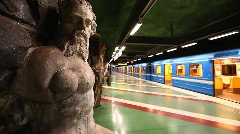 Dünyanın En Uzun Sanat Galerisi: Stockholm Metrosu