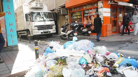 Şişli'de Çöp Toplama Grevi