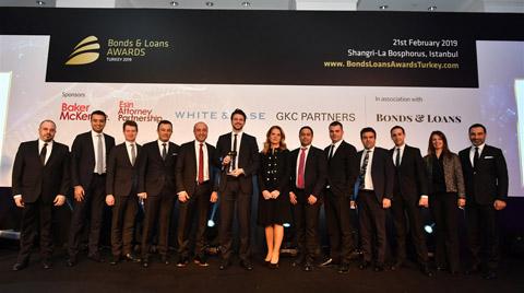 Soyak Grubu'na Enerji Finansmanında 1.lik Ödülü