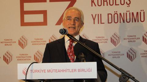 Türkiye Müteahhitler Birliği, 67. Kuruluş Yıldönümü'nü Kutladı