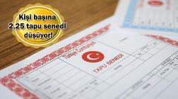 Türkiye'de 184 Milyonun Üzerinde Tapu Senedi Var