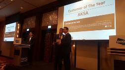 'Yılın En İyi Müşterisi' ödülü AKSA'nın oldu