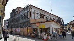 154 Yıllık Osmanlı Hanında Restorasyon Çalışmaları Sürüyor
