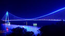 Yavuz Sultan Selim Köprüsü Mavi Işıklarla Aydınlanacak