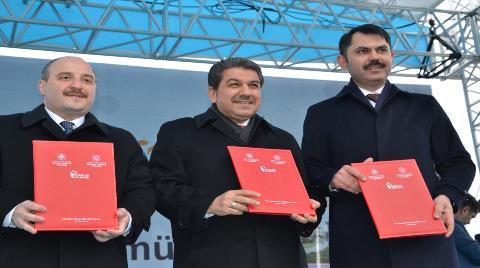 Türkiye'nin İlk 'Akıllı ve Güvenli Şehri'nin Temeli Atıldı