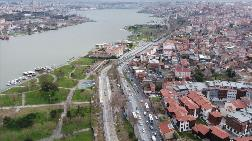 Eminönü-Alibeyköy Tramvay Hattı Havadan Görüntülendi
