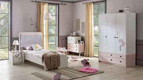 Alfemo Kids&Teens'ten Flamingo Çocuk Odası