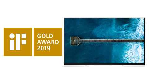LG OLED TV'ye Ödül