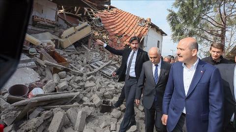 Bakan Soylu: Depremzedeleri Çadırda Çok Bekletmeyeceğiz