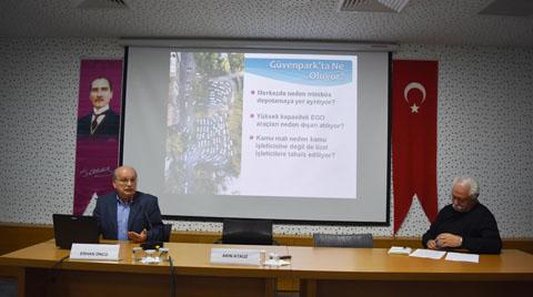 Mimarlar Odası Ankara'dan Güvenpark Açıklaması