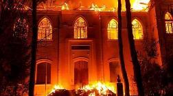 Tarihi Okulda Çıkan Yangında Sabotaj Şüphesi