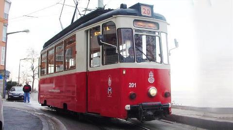 Kadıköy-Moda Tramvay Hattında Seferler Yapılamıyor