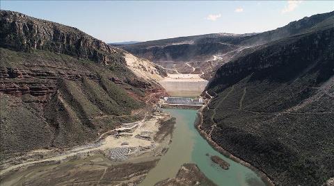 Türkiye'nin İkinci Büyük Sulama Barajı Yükseliyor