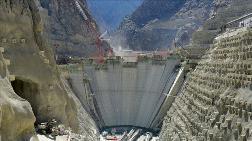 Yusufeli Barajı'nda 79 Metre Yüksekliğe Ulaşıldı