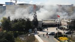Okmeydanı Eğitim ve Araştırma Hastanesi Bahçesinde Yangın