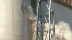 Aydın'da Çimento Fabrikasının Bacasında Patlama