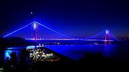 Yavuz Sultan Selim Köprüsü Mavi Işıklandırılacak
