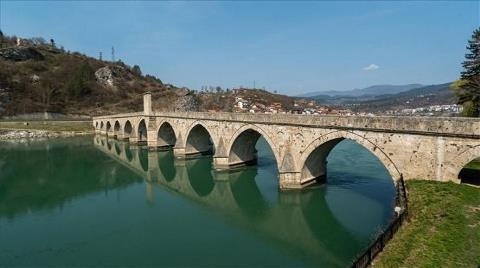 Sokollu Mehmed Paşa Köprüsü'nün Restorasyonu Tamamlandı