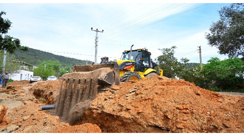 Büyükşehir'den Bodrum'un Alt Yapı Sorunu İçin 57 Proje