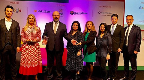 """Aygaz'a """"En İyi Kurum İçi Girişim Projesi"""" Ödülü"""
