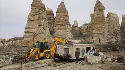 Kapadokya'da Son 5 Ayda 101 Yapı Yıkıldı