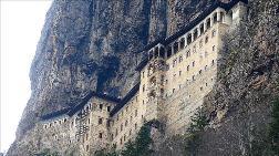 Sümela Manastırı Açılış İçin Gün Sayıyor