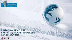 Türkiye İMSAD Dış Ticaret Endeksi Şubat 2019