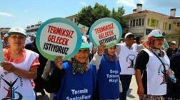 Yenice'de Termik Santral Mücadelesi Sürüyor