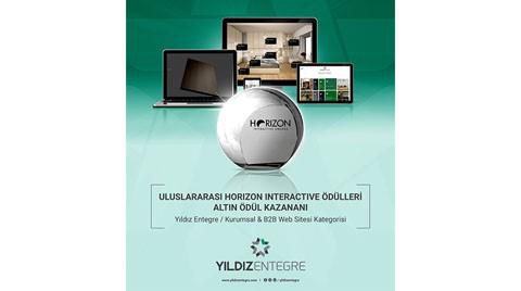 Yıldız Entegre'ye Horizon Interactive Awards'tan Ödül