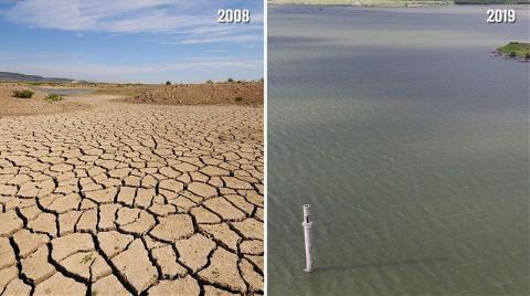 Tahtalı Barajı, İlk Kez Dolmaya Yaklaştı