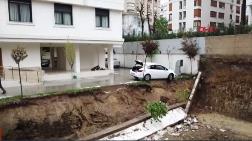 Kentsel Dönüşüm - Kadıköy'de Bahçe Duvarı Çöktü, Apartman Mühürlendi