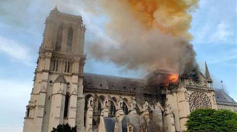 Notre Dame Katedrali İçin Bağışlar 1 Milyar Dolara Yaklaştı