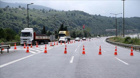 Anadolu Otoyolu'nda Bakım Çalışması Yapılacak