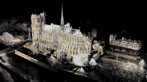 Notre Dame Dijital Kopyadan Restore Edilecek