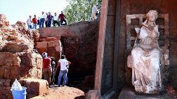 'Ana Tanrıça Kibele' Heykelinin Bulunduğu Kalede, Kazılar Yeniden Başlayacak