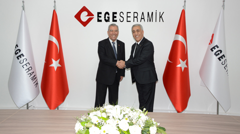 Ege Seramik'te Bayrak Değişimi