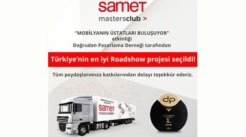 Doğrudan Pazarlama Ödülü SAMET'in