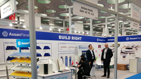 Assan Panel, Project Qatar Fuarı'ndaydı