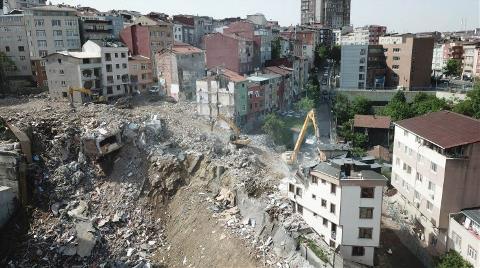 Kağıthane'de 14 Bina Yıkıldı