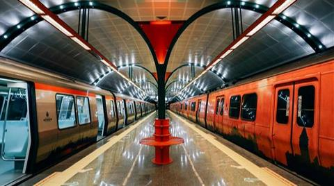 İstanbul'da Raylı Sistemde Sefer Saatleri Uzatıldı