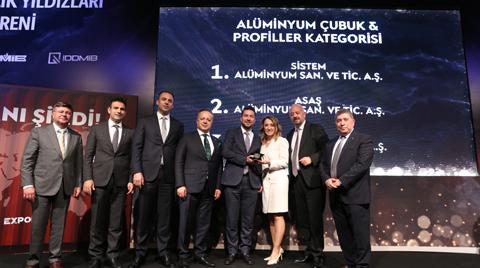 Sistem Alüminyum'a En Başarılı İhracatçı Ödülü
