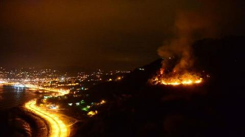 Giresun'daki Orman Yangını, 15,5 Saat Sonra Söndü
