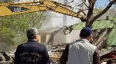 Bingöl'de Madde Bağımlılarının Kullandığı Metruk Bina Yıkıldı