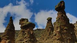 Çankırı'nın 'Peribacaları' Ziyaretçilerini Bekliyor